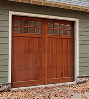 Wood Garage Doors | Wooden Overhead Door | Paint Grade Doors