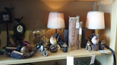 Lamps and home decor to light up and enhance your home!