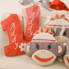 My sister-in-law's cookie company. These are the cutest and best tasting cookies, ever. She's been baking and shipping cookies all over the US since 2006.