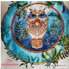 Take a peek at this great artwork on Johanna Basford's Colouring Gallery! Colouring Pages, Coloring Books, Owl Pictures, Doodle Inspiration, Johanna Basford, Doodle Art, Adult Coloring, Enchanted, Doodles