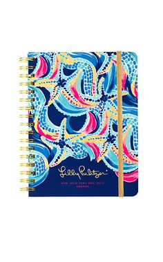 2016-2017 Large Agendas and Planners | Lilly Pulitzer