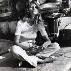 Charlotte Rampling in Firenze