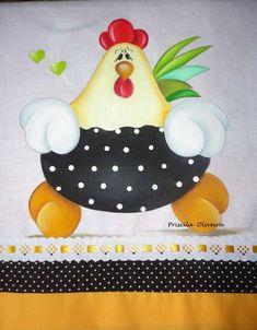"""Pintura """"galinha de pano """" feita num tecido sacaria da marca Engomatextil com barrinha de tricoline de dupla estampa.    medida 0,45 x 72 cm    Consulte os tecidos de acabamento disponiveis.."""