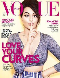 #SonakshiSinha on the #Vogue magazine cover girl.