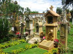 Colombia - Cementerio en Barichara Santander.
