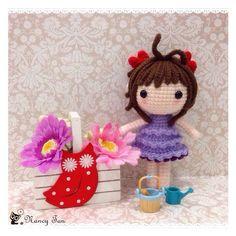 A lovely doll named Xiao Ying。小樱 [保瓜行动] ~ 原创不易,支持作者'茶籽'辛苦的创作