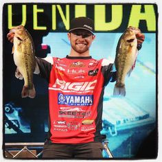 The weigh-in continues at #bassmasterclassic Brandon Palaniuk brings in a 12.07 bag and moves into 16th place. He finished 2nd on Grand Lake in 2013. - Kaylea M. Hutson-Miller / Grove Sun