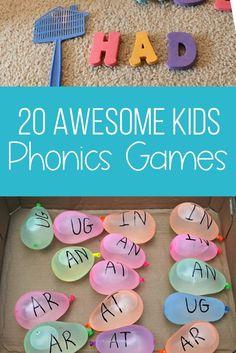 KIDS PHONICS GAMES