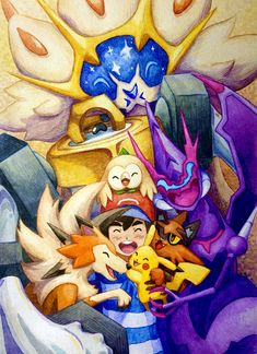 Ash Pokemon, Cute Pokemon, Pikachu, Ash Ketchum, Clear Card, Watercolor Pencils, My Childhood, Cool Pictures, Cool Art