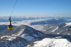 Take the cable car up the Dachstein Glacier