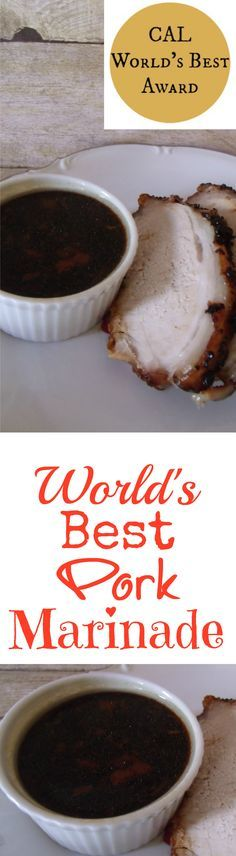 World S Best Pork Marinade