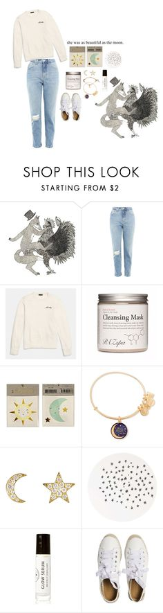 """moon child"" by maylaaa ❤ liked on Polyvore featuring Topshop, Coach, Alex and Ani, Finn, Birchrose + Co. and Matt Bernson"