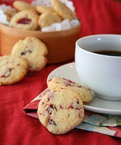 Cranberry Ginger Butter Cookies – Low Carb and Gluten-Free