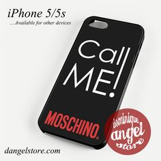 Call Me Moschino Phone case for iPhone 4/4s/5/5c/5s/6/6 plus