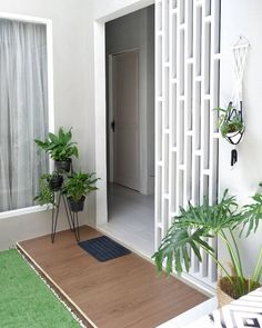 Home Room Design, Dream Home Design, Home Design Plans, Backyard Garden Design, Balcony Design, Interior Garden, Interior And Exterior, Modern Contemporary Homes, House Plants Decor