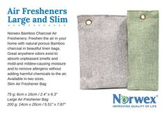 Air Freshener Bags A new design makes these even better than before!