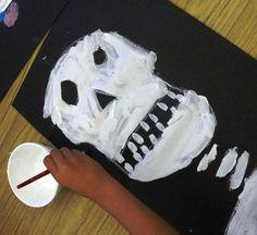 Dia de los Muertos Art lesson