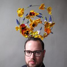 urban dude gardening | artist: joshua werber
