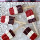 Red, White and Blueberry Pops | Culinary Covers