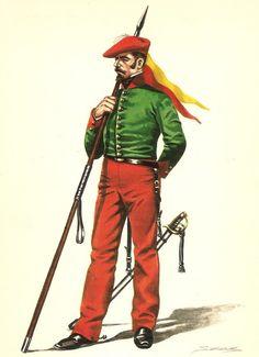 Lanceros de Navarra 1834-39