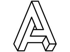 #OpticalIllusion #fonts Dribble #Typeface by #WillHolmes https://d13yacurqjgara.cloudfront.net/users/191660/screenshots/1546981/abc.gif via @FrauDesigner