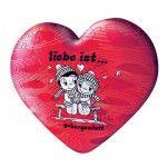 Puzzle ball 60 pièces coeur - Liebe ist... Sécurité