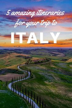 5 Amazing Italy Itinerary Ideas: If you have 10 days in Italy and are wondering where to go these itineraries are all incredible and will make planning your trip to Italy a breeze! Travel Tips Tips Travel Guide Hacks packing tour Places To Travel, Travel Destinations, Places To Visit, Travel Tours, 10 Days In Italy, Italy Travel Tips, Budget Travel, Travel List, Cheap Travel