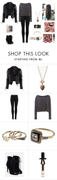 """""""Human #2"""" by jazmine-bowman on Polyvore featuring H&M, 1928, Cullen, M&S, Crea Concept, JustFab and Victoria's Secret"""