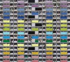 Hong Kong Skyscraper : Photo by Michael Wolf