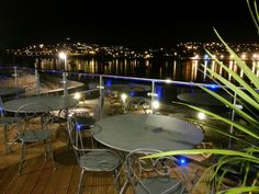 Night View from The Clipper Cafe, Shaldon, Deveon Gossard, Pubs And Restaurants, Close To Home, Sunrises, Devon, Beaches, Night, Gallery, Photography