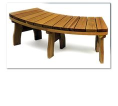Curved Garden Bench More