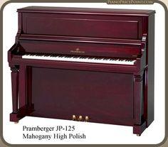 Pramberger JP125 Upright Piano Piano Brands, Upright Piano, Models, Templates, Modeling, Fashion Models