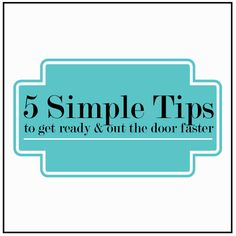 5 Simple Tips for a Quicker Morning Routine plus a get-ready music list to get you motivated and pumped! Skin Care Routine Steps, Skin Care Tips, Beauty Routines, Skincare Routine, Skin Firming, Things To Know, Good To Know, Health And Beauty, Helpful Hints
