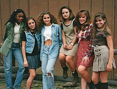 Fashion in the early 1990s was generally loose fitting and colorful. Unless you were going for the grunge look, then color was the enemy.
