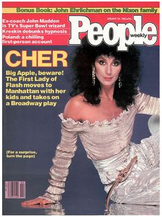 Cher on the cover of People Magazine January 25, 1982