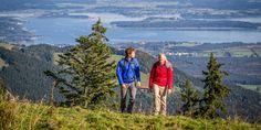 Wanderherbst in Bayern im Chiemgau