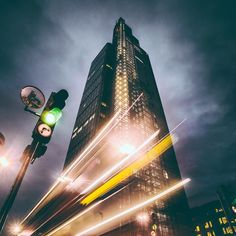 A very moody #HeronTower by @grahamjoyphoto. I love the drama that the light trails and the cloudy sky creates in the image. Great shot Graham thank you for sharing!   I'm now heading to the @London Meetup and gig with @ArmyOfBones at The Borderline near Tottenham Court Road - come down if you're nearby and say hi! Doors open 8pm!  For your chance to be featured tag your photos with #RonRocksLondon! @rontimehin // #thisislondon by london