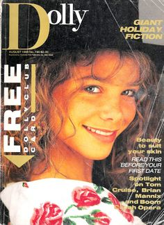Dolly magazine - was it ever better than in the 80s?  Dolly Doctor was SO risque! Meredith Salenger, Cool Magazine, Magazine Covers, Old Magazines, Childhood Memories, 1980s, Vintage Antiques, Retro Vintage, Nostalgia