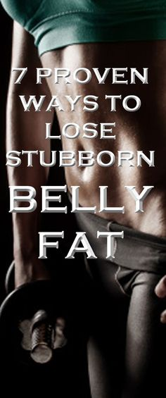 The best strategy for banishing belly fat. #fitness #exercise #wellness #health #bellyfat