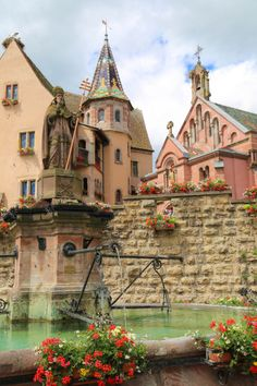 Eguisheim, France (by Kristy Schmidt)