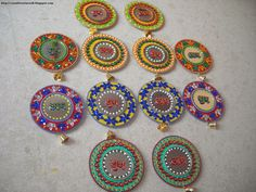 CD diwali craft