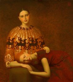 """""""Dream"""", 2007                                        Andrey Remnev                                              Oil on canvas"""