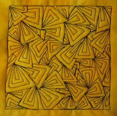 Holy cow - this blog has over 300 different free motion quilting ideas/patterns and a video tutorial showing you how to do them! All on a domestic machine!
