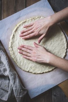 The Bojon Gourmet: Thin and Crisp Gluten-Free Pizza Dough {Whole-Grain + Gum-Free}