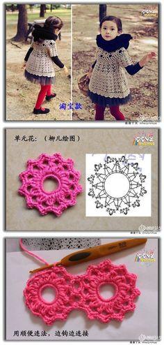 DIY Crochet Beautiful Dress