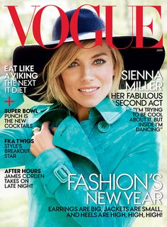Sienna Miller for Vogue USA by Mario Testino