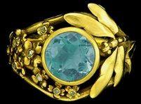 Art Nouveau Dragonfly Ring von Lucien Gaillard