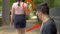 Er will, was sie hat - in ihrer Papiertüte!