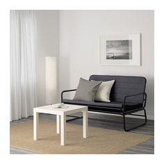 IKEA HAMMARN sofa-bed Readily converts into a roomy bed for two. easy to lift and move. Cama Ikea, Futons, Lit Convertible Ikea, Most Comfortable Sofa Bed, Ashley Furniture Sofas, Small Couch, Ikea Small Sofa, Ikea Sofa Bed, Built In Sofa