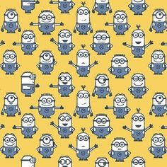1 IN A MINION 23995 S by Quilting Treaures 1//2 YARD